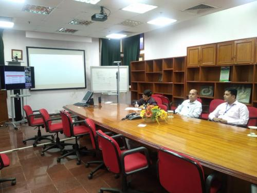 "VIDEO CONFERENCE ON ""CAREER GUIDANCE FOR SCHOOL CHILDREN"""