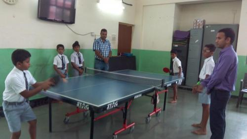 Table Tennis and Skipping-CCA