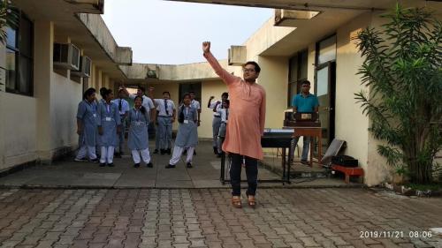 AEROBICS DANCE- FIT INDIA